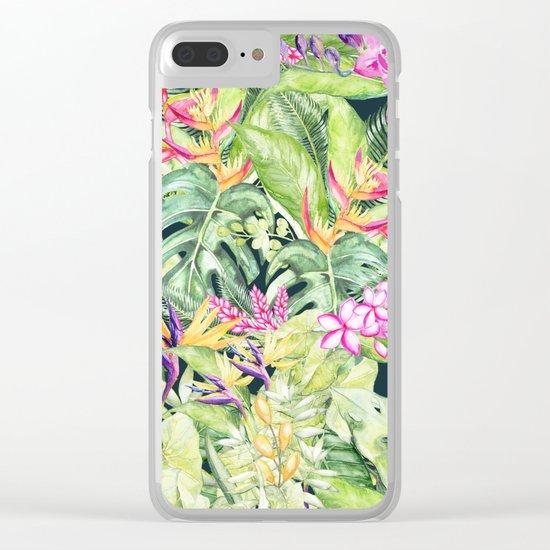 Tropical Garden 1 #society6 Clear iPhone Case