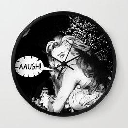 AAUGH! Wall Clock