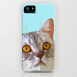 Hooman, do you have food? iPhone Case