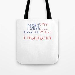 Manistee Michigan Tote Bag