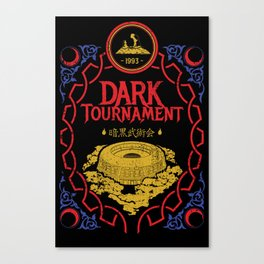 I Survived the Dark Tournament Canvas Print