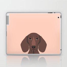 Remy - Daschund hipster dog, doxie, weiner dog, wiener dog,  Laptop & iPad Skin
