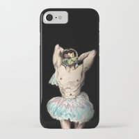 master chief iPhone & iPod Cases featuring Master Chief Ballerina.  by Emily Blythe Jones