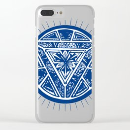 Art reactor great cosplayers iron costume shirt Clear iPhone Case