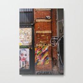 East Village Street Art IV Metal Print