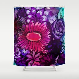 Floral Delights Shower Curtain