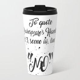 Shakespeare's Hamlet Travel Mug