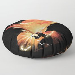 Goku Sndown head Floor Pillow