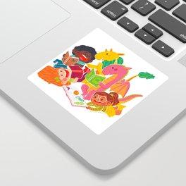 Reading Fun Sticker