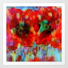 Simple as flowers Art Print