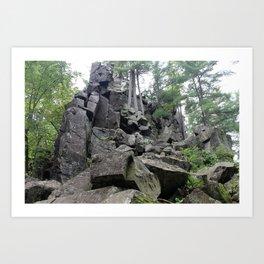 Western Edge of Gaia Art Print