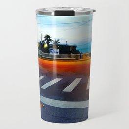 Beach Crossing Travel Mug