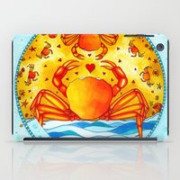 cancer iPad Cases featuring Cancer by Sandra Nascimento