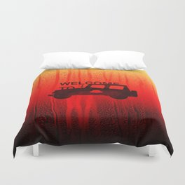 Welcome To... Duvet Cover