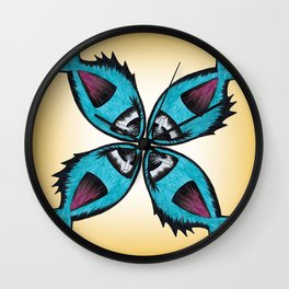 Fishie Fish Wall Clock