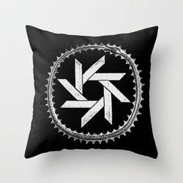 Statiqbloom Logo Throw Pillow