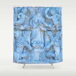 Spanish Monastery  Shower Curtain