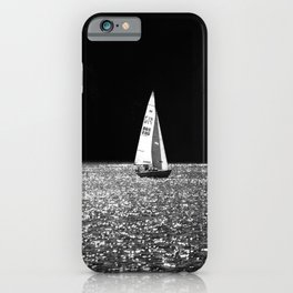 Sailing On The Lake #decor #society6 #buyart iPhone Case