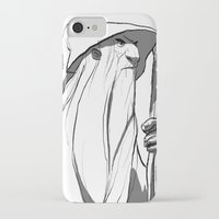 gandalf iPhone & iPod Cases featuring Gandalf by 4nima