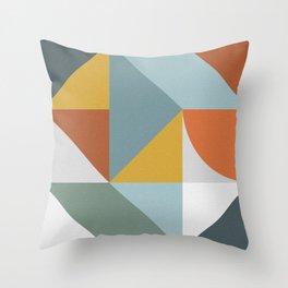 Abstract No. 7 Throw Pillow