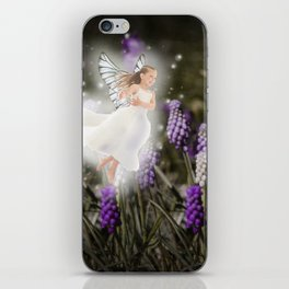 Hyacinth Fairy iPhone Skin