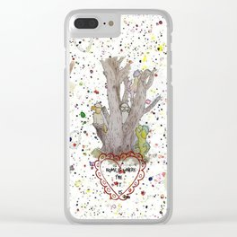 Home Is Where The TT Is Clear iPhone Case