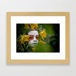 Suri Green Framed Art Print