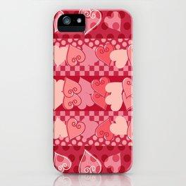Herzmuster iPhone Case