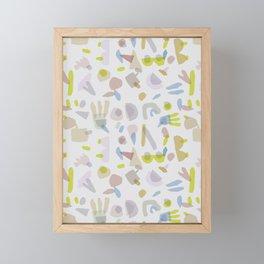 Playing Framed Mini Art Print