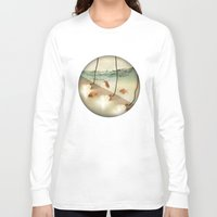 agnes Long Sleeve T-shirts featuring ideas and goldfish by Vin Zzep