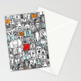 animal ABC Stationery Cards
