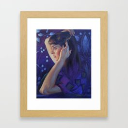 """Evening Glow"" Framed Art Print"