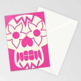 FEEDING GROUND Sugar Skull Stationery Cards