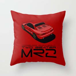 MR2 SW20 Throw Pillow