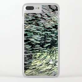Shimmering Shoal Clear iPhone Case