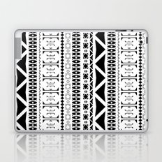 Black & White Pattern Laptop & iPad Skin