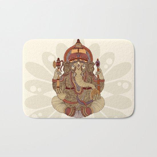 Ganesha: Lord of Success Bath Mat