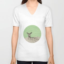 A deer Unisex V-Neck