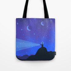 NEPTUNE Space Tourism Travel Poster Tote Bag