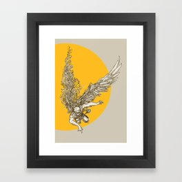 Icarus Framed Art Print