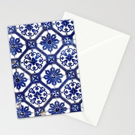 Portuguese Tile Stationery Cards