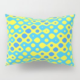 Brain Coral Blue Banded Small Polyps - Coral Reef Series 027 Pillow Sham