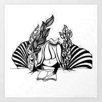 literary Art Prints featuring Literary. by  randimae