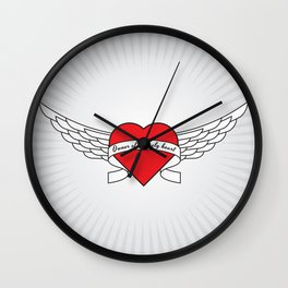 Owner of a lonely heart Wall Clock