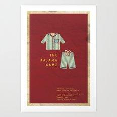 Pajama Game Art Print