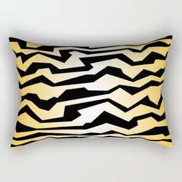 Polynoise tiger Rectangular Pillow