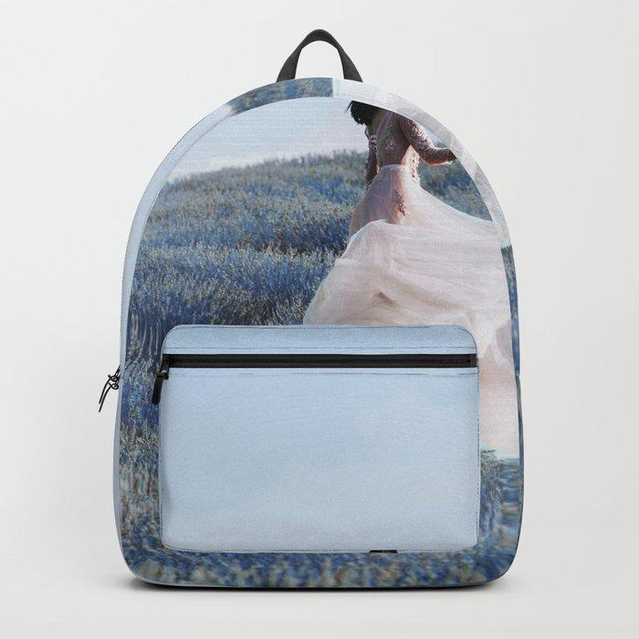 Blue field Backpack