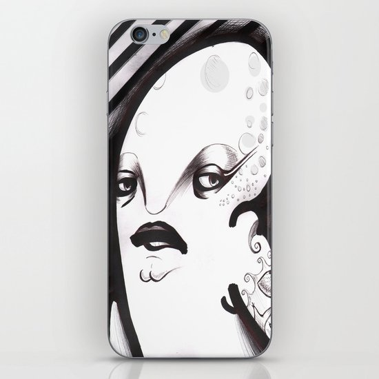 Mrs. Thing iPhone & iPod Skin