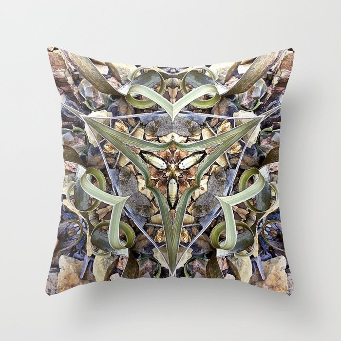 Magnified No 1 Throw Pillow