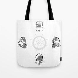 Diving Helmets Tote Bag